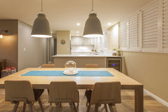 Kitchen and dining Stock Image