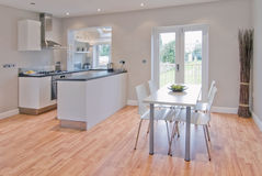 Kitchen dining room Royalty Free Stock Photos