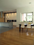 Kitchen and dining room Stock Photo