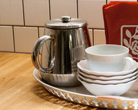 Kitchen dishes Royalty Free Stock Images