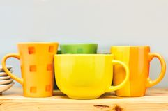 Kitchen dishes stock photography