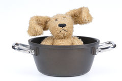Kitchen Dishes, Saucepan with Hare Stock Photography