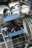 Kitchen dishwasher stock photo