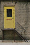 Kitchen Door Royalty Free Stock Image