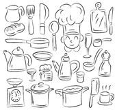 Kitchen draw Stock Images