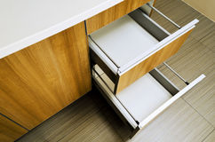 Kitchen Drawer Royalty Free Stock Images