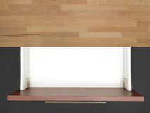 Kitchen Drawer Royalty Free Stock Photography