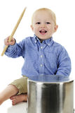 Kitchen Drummer Royalty Free Stock Images