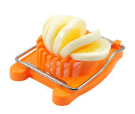 Kitchen egg slicer Stock Photos