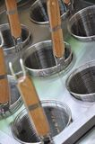 Kitchen equipment Stock Image