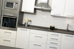 Kitchen with equipment Stock Photography