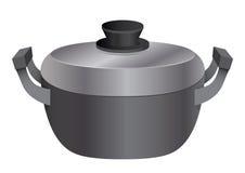 Kitchen equipment pot Stock Photography