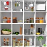 Kitchen equipment Stock Images