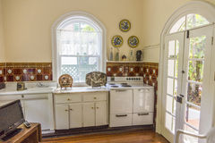 Kitchen in the Ernest Hemingway Home and Museum in Key West Stock Images