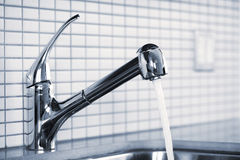 Kitchen Faucet Stock Photography