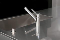 Kitchen faucet Royalty Free Stock Photo