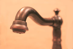 Kitchen faucet Royalty Free Stock Images