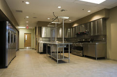 Kitchen in Fire Station Royalty Free Stock Photos
