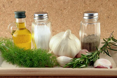 Kitchen Flavours Royalty Free Stock Photos