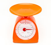 Kitchen food scale Royalty Free Stock Image