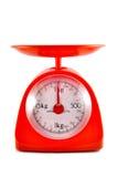 Kitchen food scale Stock Photo