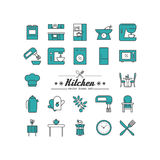 Kitchen. Royalty Free Stock Photography