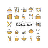 Kitchen. Food. Stock Photos