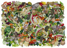 Kitchen food wastes as background Royalty Free Stock Image