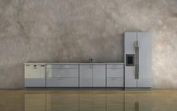 Kitchen furniture Royalty Free Stock Image