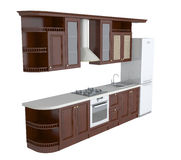 Kitchen furniture Royalty Free Stock Photo