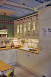 Kitchen in furniture store Ikea Stock Photography