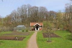 Kitchen garden, Gothenburg botanical garden royalty free stock photo