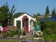 Kitchen gardens in summer Stock Photo