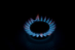 The kitchen gas cooker Stock Photography