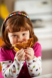 Kitchen Girl: Hungry For Grilled Cheese Royalty Free Stock Photography