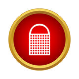 Kitchen grater icon in simple style Royalty Free Stock Image