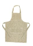Kitchen gray apron. Royalty Free Stock Photography