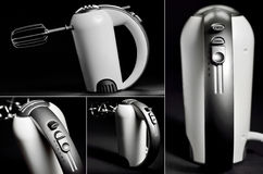 Kitchen hand mixer Royalty Free Stock Images