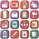 Kitchen home appliances Stock Photo