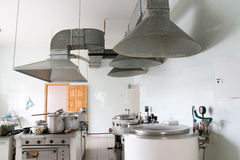 Kitchen in hospital Royalty Free Stock Photos