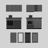 Kitchen House Furniture Icon Royalty Free Stock Photo
