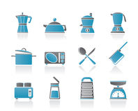 Kitchen and household equipment icon Royalty Free Stock Images