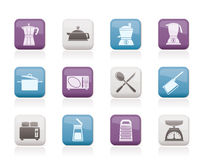 Kitchen and household equipment icon Stock Photo