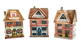 Kitchen houses - candy, zucchero, suga Royalty Free Stock Images