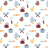 Kitchen Icon pattern Royalty Free Stock Image