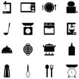 Kitchen icon set. The kitchen of icon set royalty free illustration