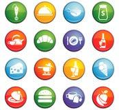 Kitchen icon set. Kitchen  icons for user interface design Royalty Free Stock Image