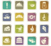 Kitchen icon set. Kitchen  icons for user interface design Stock Photography