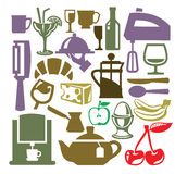 Kitchen icon Royalty Free Stock Images