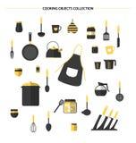 Kitchen icons, vector Stock Photo